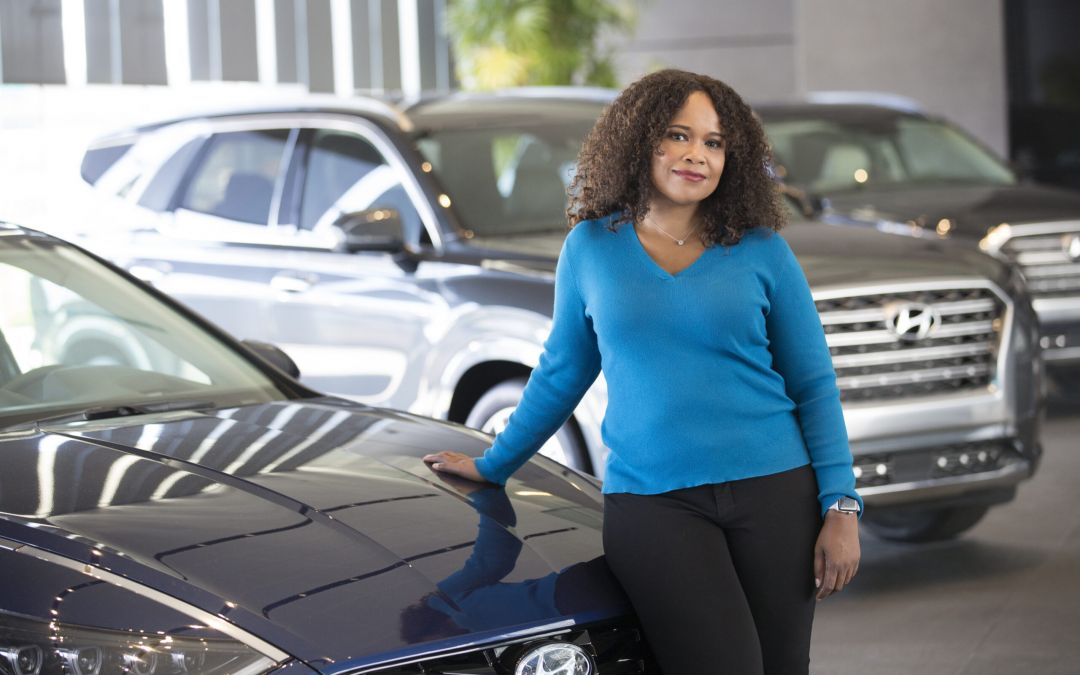 Starting at a Black Newspaper, Dana White Is the First Black Woman to Run Comms at a Major Automaker