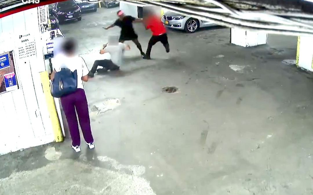 VIDEO: Man in Black Dress Wanted in Knife Attack