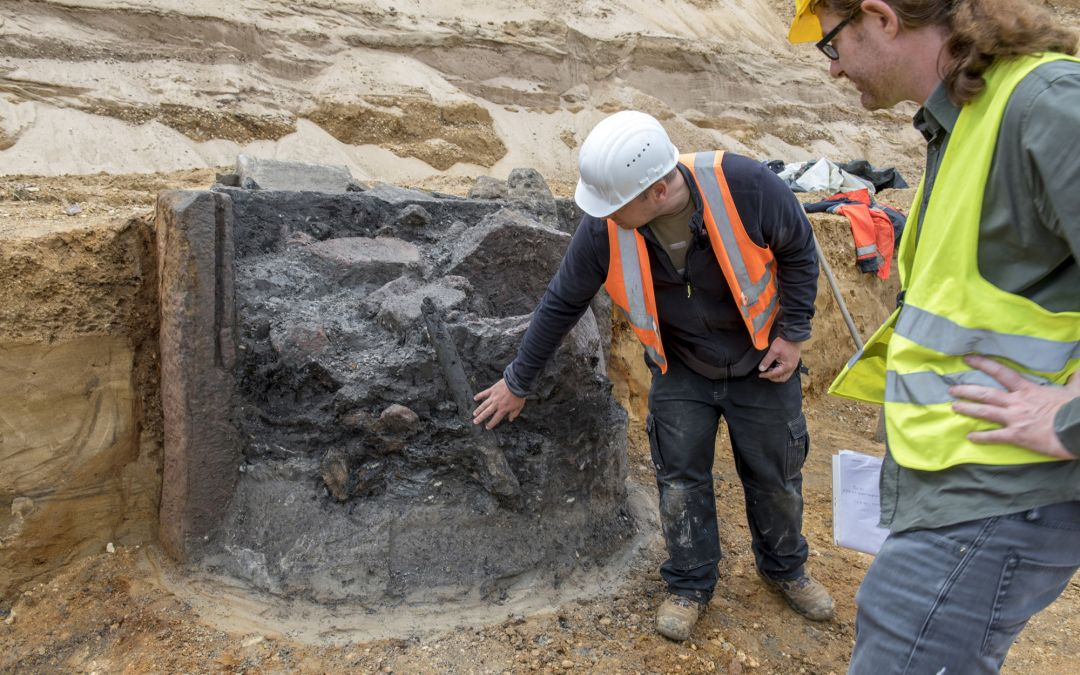 Column Bearing Roman Gods Discovered In Germany