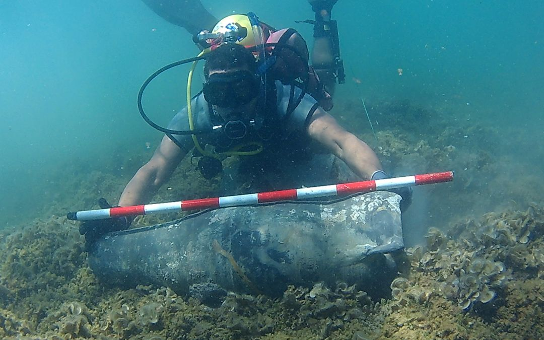 Ancient Amphora Found Off Spain's East Coast