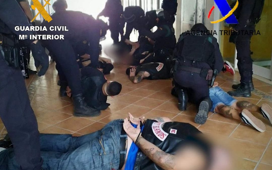 6 Fallen Angels Nabbed in Tenerife Drug Bust