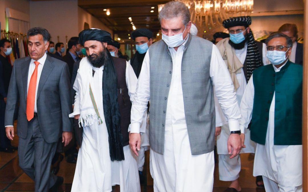 Taliban Peace Team Arrives in Pakistan Despite Sanctions