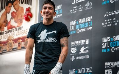 Halloween Fight Night: Leo Santa Cruz Battles Gervonta 'Tank' Davis in Texas