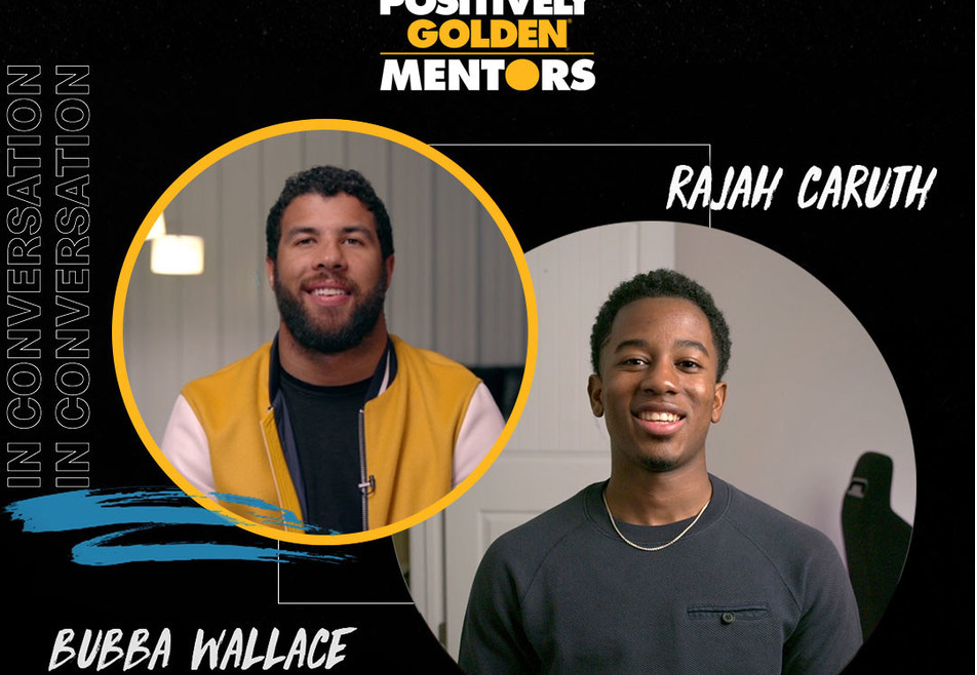 McDonald's Black & Positively Golden Mentors Program Speeds Up, Bubba Wallace Comes on Board