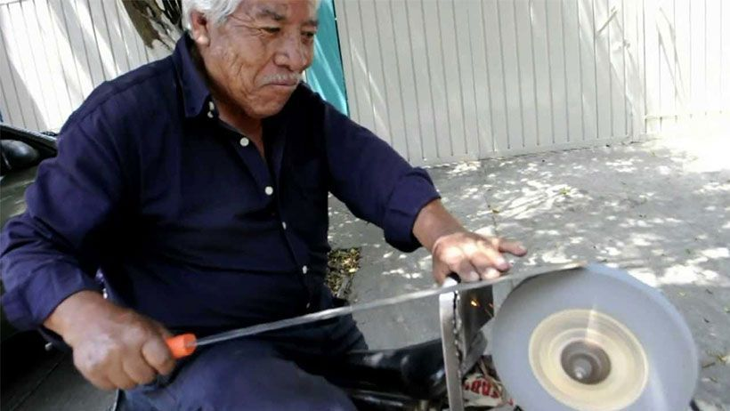 What A Grind: Traveling Knife Sharpeners Fading Away