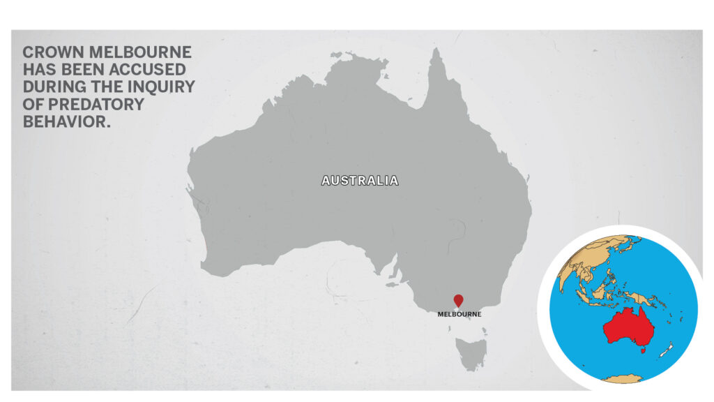 Map of Melbourne Australia