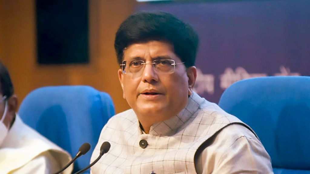 Union Minister of Commerce Piyush Goyal on Monday said that as local goes global, the focus of the government is to enhance the quality, productivity, and competitiveness of industry to boost exports. (Press Information Bureau)