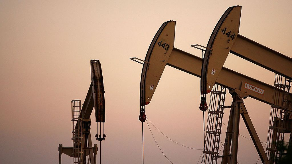 Oil prices sank to a three-month low on Thursday. (Photo by David McNew/Getty Images)