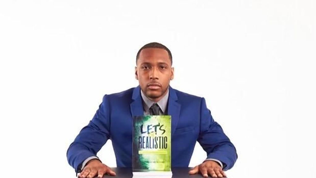 """Darnelle Beckford has written a motivational and inspirational book, """"Let's Be Realistic: Battling Epilepsy and Other Limitations."""" He says, """"This book is for you if you have any type of addiction or illness."""" (Courtesy of Darnelle Beckford)"""
